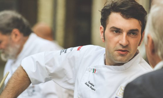 Martino Ruggieri, portabandiera italiano alla finale europea del Bocuse d'Or 2018