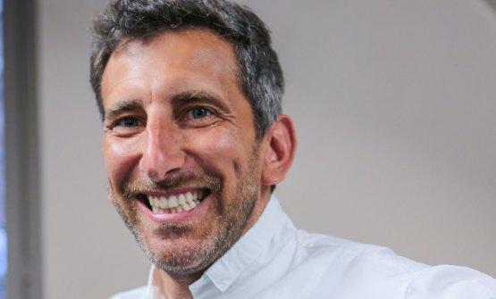Andrea Sarri, chef patron del ristorante Sarri a B