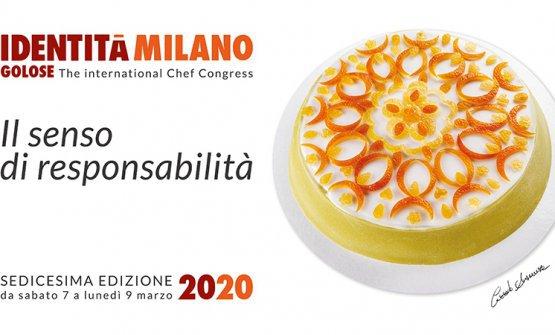La Cassata di Corrado Assenza piatto simbolo di Identità Milano 2020