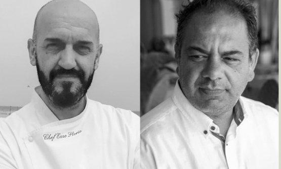 Enzo Florio e Vito Mancini, chef e maitre di Tucci