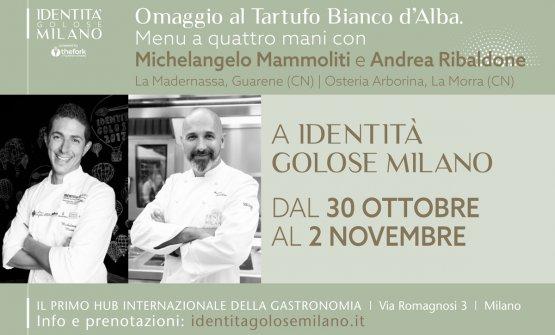 Grande appuntamento a Identità Golose Milano, dal