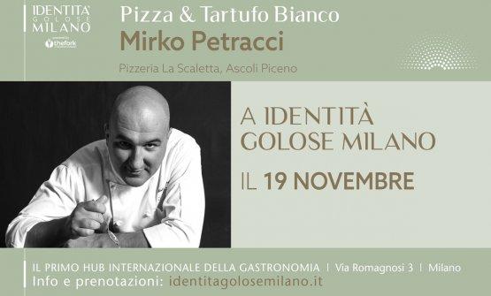 Mirko Petracci, le sue eccellenti pizza basate sul