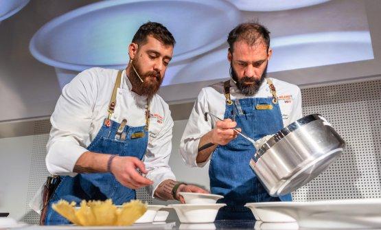 Manuel e Christian Costardi a Identità Milano 201