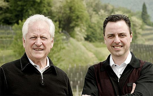 Luigi Zanini senior e Luigi Zanini junior di Zanini Vinattieri