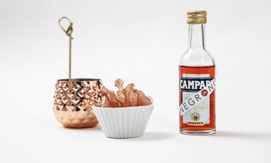 Chips Bitter Campari di Peter Brunel
