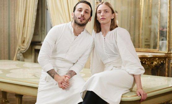 Floriano Pellegrino e Isabella Potì