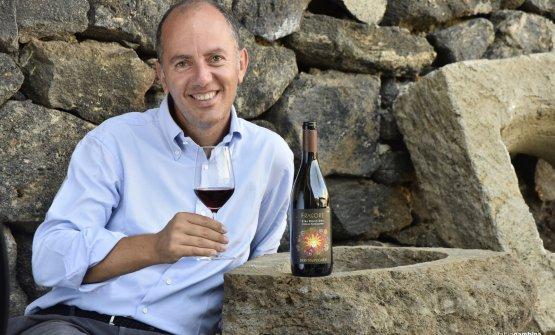 Antonio Rallo con il nuovo vino