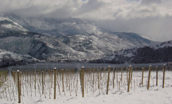 L'inverno a Valle Reale