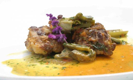 Nei piatti di Arcadia, la ricchezza dell'orto e non solo