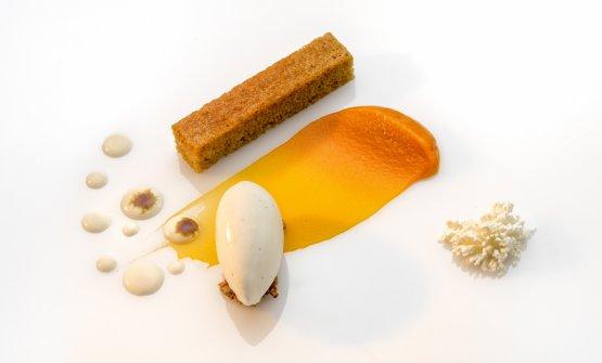 Kabocha, vaniglia, tartufo bianco: il piatto dell&