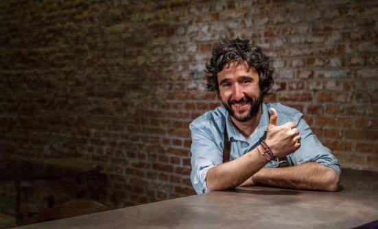 Diego Guerrero, chef in grande ascesa al Dstage diMadrid, due stelle Michelin da pochi giorni (foto esmadrid)