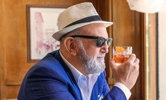 Luca Picchi,Brand Ambassador diSagna eresponsabile del Caffè Gilli di Firenze