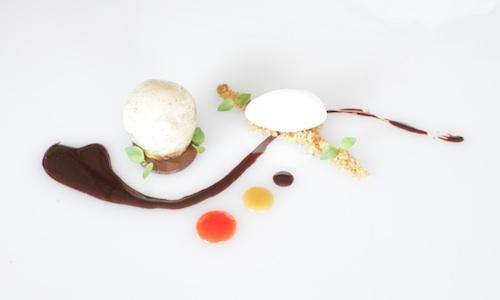 Uno dei dessert in gara nella prima edizione del P