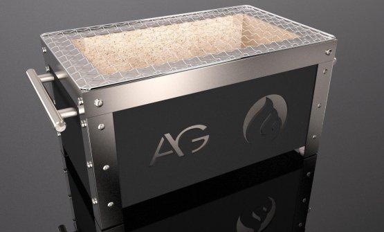 Il grill speciale ideato da Alfio Ghezzi