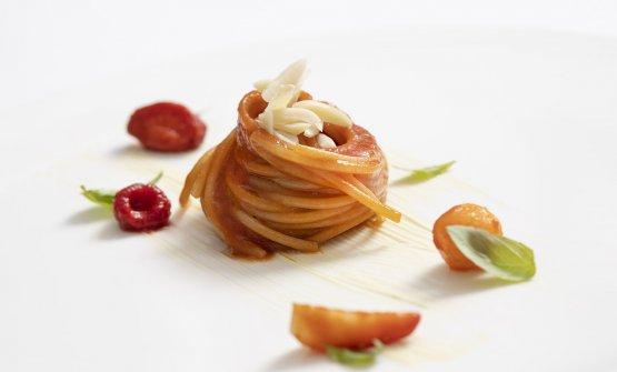 Spaghetto alla conserva estiva