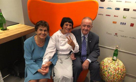 La Pezzella a Identità Golose Milano con Aimo e Nadia Moroni