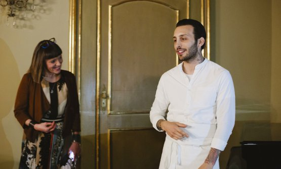 Floriano Pellegrino e Nadia Afragola