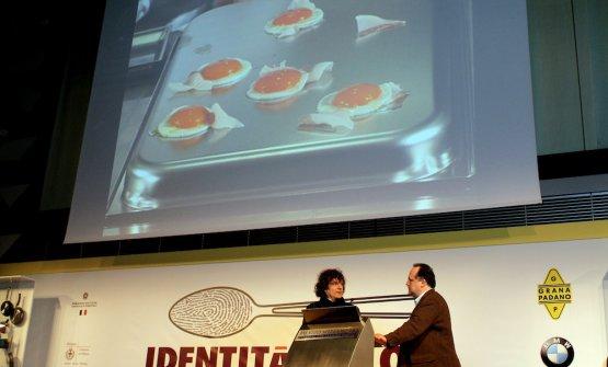 Con Paolo Marchi, sempre nel 2006