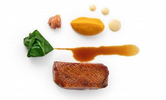Anatra, zucca e Vermouth: il piatto dell'autunno di Andrea Ribaldone
