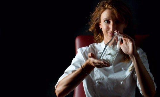 Claudia Del Frate, lucchese, 34 anni, capo-pasticc
