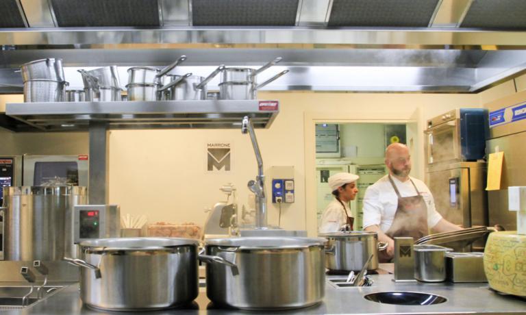 La cucina di Identit� Expo targata�Marrone