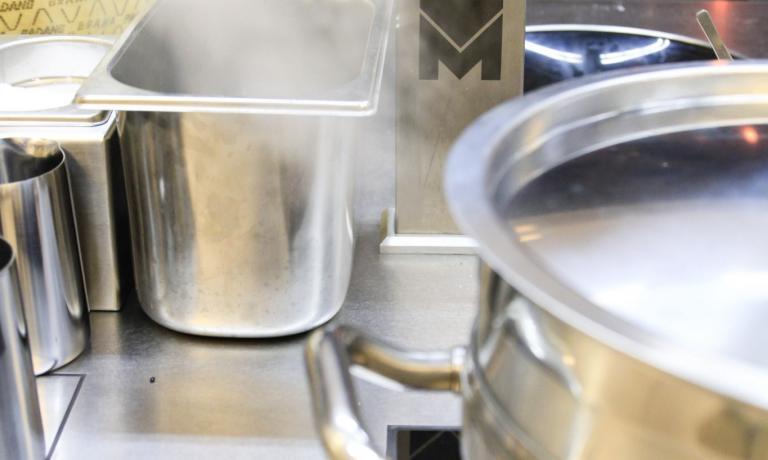 Un altro dettaglio della nostra cucina a Expo Milano 2015