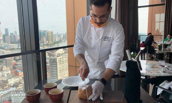 Mauro Aloisio, chef di cuisine del Ristorante di N