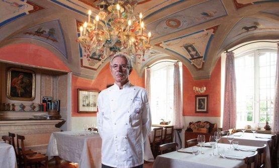 Alberto Rocchi, fondatore del ristoranteCantine