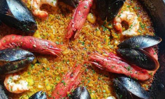 La paella valenciana diAlbufera, ristorante in