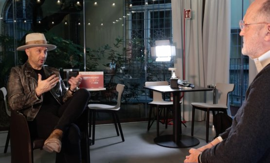Joe Bastianich intervistato da Paolo Marchinella