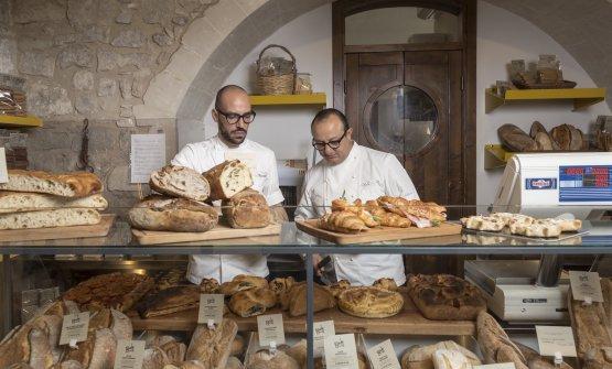 Peppe Cannistrà eCiccio Sultano, chef e anima de I Banchi diRagusa Ibla,+39.0932.655000