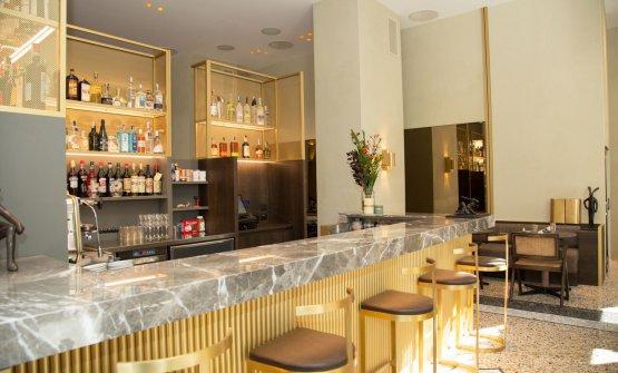 Il banco bar del Cittamani. Prezzo medio previto: 50 euro bevande escluse