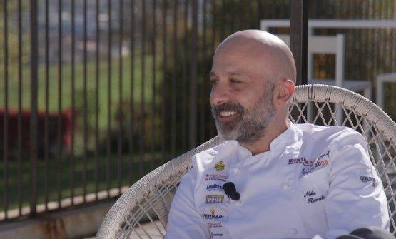 Niko Romito, 46 anni, chef e patron di Casadonna a