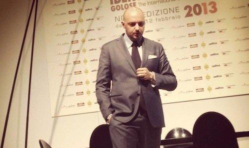 Palmieri sul palco di Identità Milano nel 2013