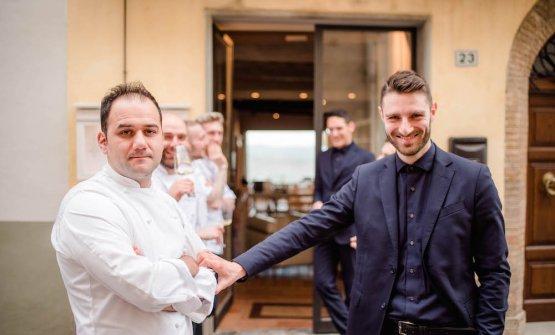 Ronald Bukri e Francesco Perali, chef e direttore