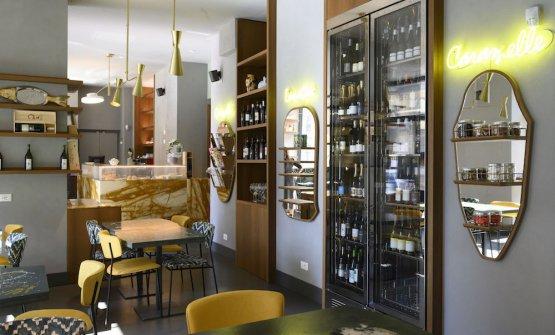 Particolare della sala da pranzo/cena principale(foto Brambilla/Serrani)