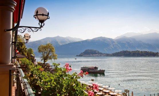 Il lago di Como dal Grand Hotel Tremezzo