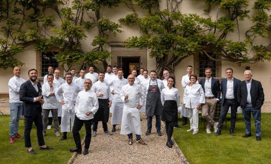 Cuochi ospiti domenica 23 maggio a Villa San Miche