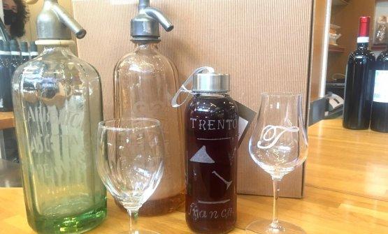 Il Trento, liquore natonel locale Maldifassi di