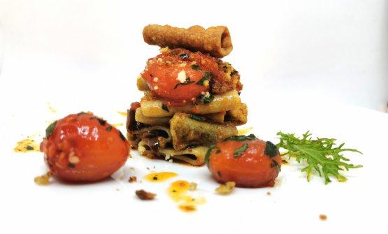 Accusì s'fa, primo piatto vegetariano di Fabriz