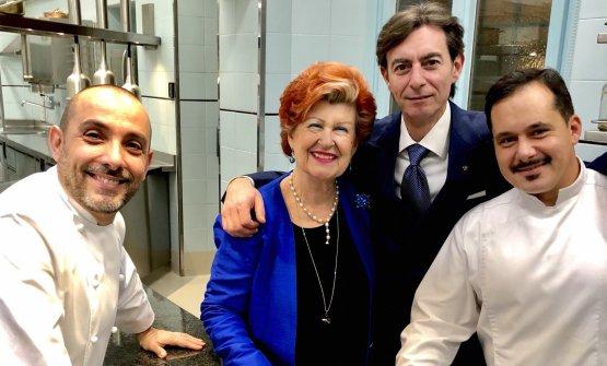 RiccardoMonco, Annie Féolde, Alessandro Tomberl