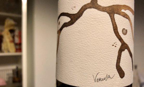 L'etichetta del nuovo Venusa 2017 di Venissa, tirato in pochissime bottiglie.Prezzo al dettaglio, 40 euro