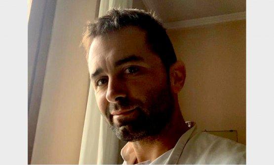 Matteo Malusardi, uomo di sala della Trattoria Al