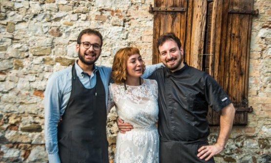 Marco Chiarotto,Chiara Nemaz(dettaKiara) eStefano Arban