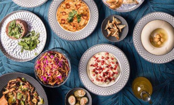 Alcune delle mezze del ristoranteEm Sherifa Be
