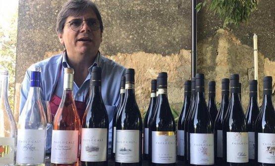 Paolo Calì, titolare dell'omonima azienda vin