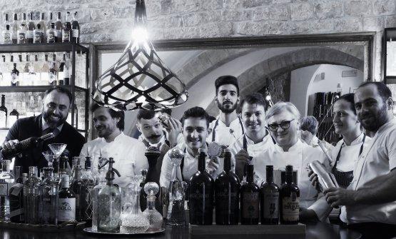 Pashà, la casa-ristorante di Conversano (Bari). M