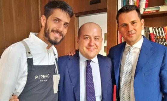 Ciro Scamardella, Alessandro Piperoe Achille Sar