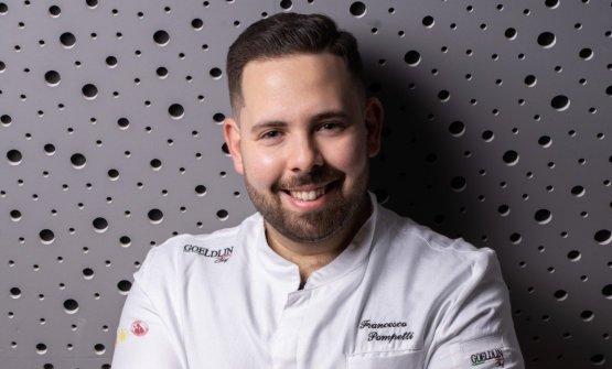 Francesco Pompetti, chef e patron della pizzeria I