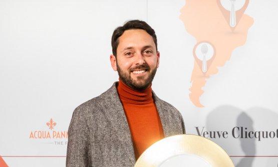 Fabrizio Picano, 37 anni, maitre in forze al risto